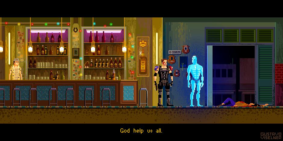 Watchmen -  Pixel Art