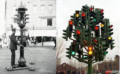 Menelusuri Sejarah Lampu Lalu lintas