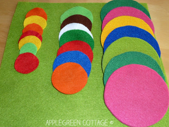 easy DIY felt coasters for you to make