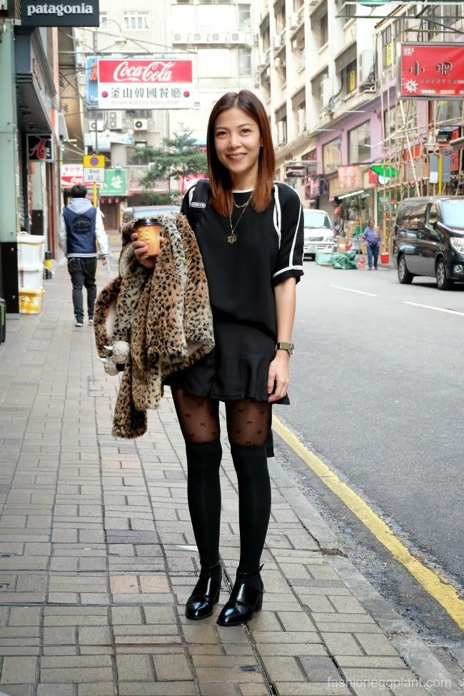 Hong Kong Ootd Day 2 Disneyland Fashion Eggplant