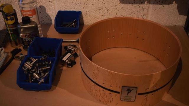 Снятие машинки с барабана