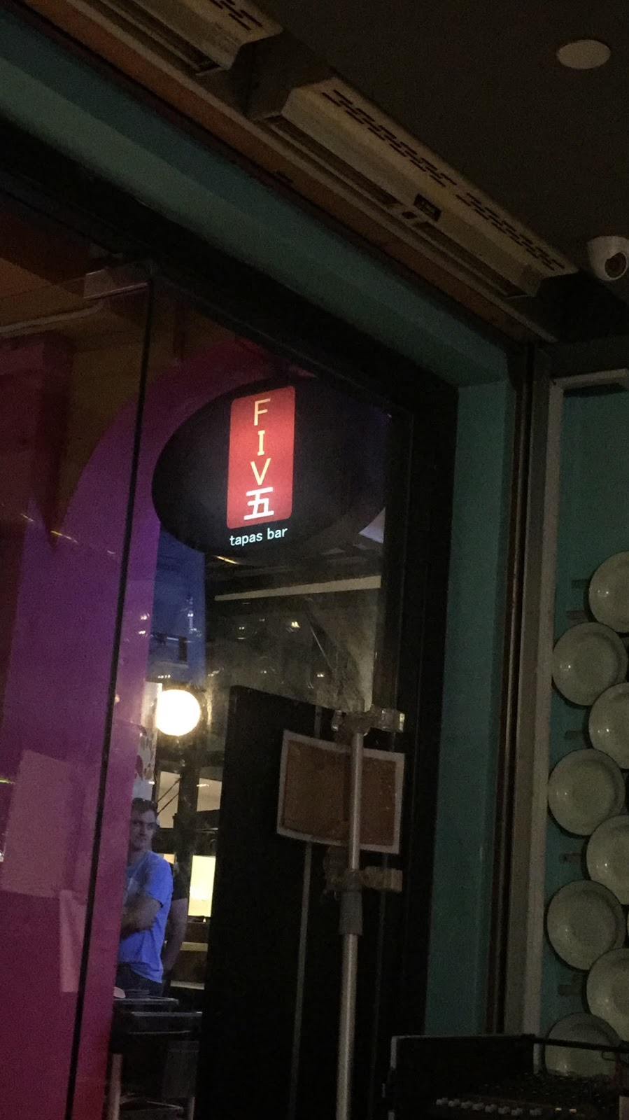 five tapas bar somerset