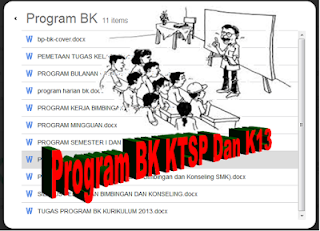 program bimbingan konseling sd, mi