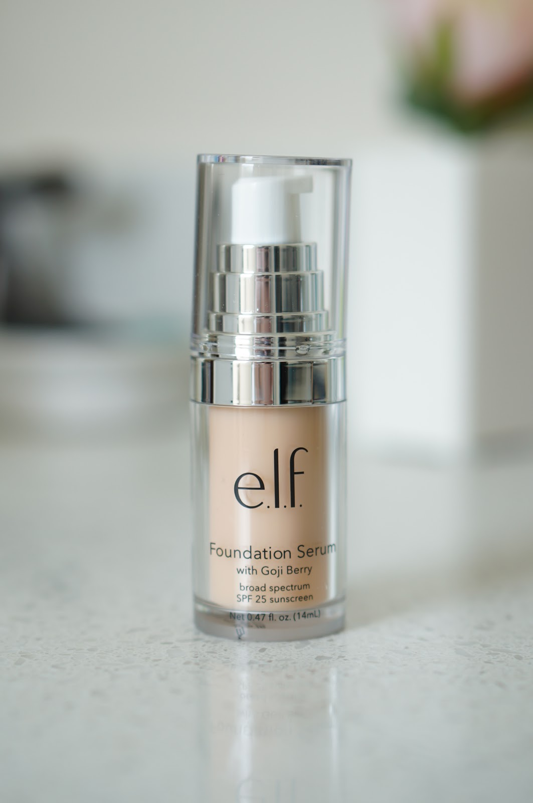 Popular North Carolina style blogger Rebecca Lately shares a cruelty free foundation Friday.  Click here to read about the E.L.F. Beautifully Bare Foundation Serum!