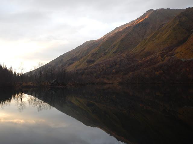 Озеро Кардывач, Красная поляна, Кавказские горы, осень