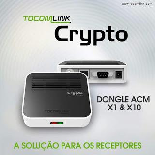 TOCOMLINK DONGLE CRYPTON X1 NOVA ATUALIZAÇÃO V 1.017 - 17/12/2017