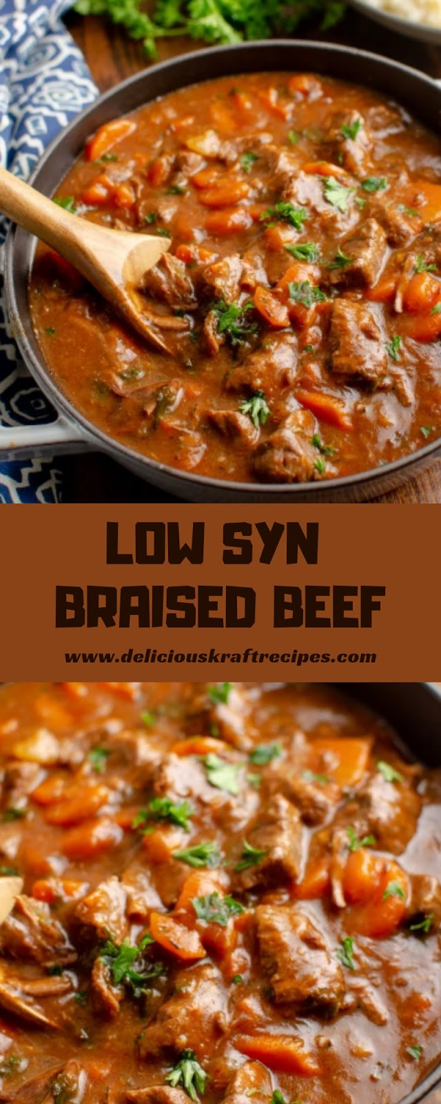LOW SYN BRAISED BEEF