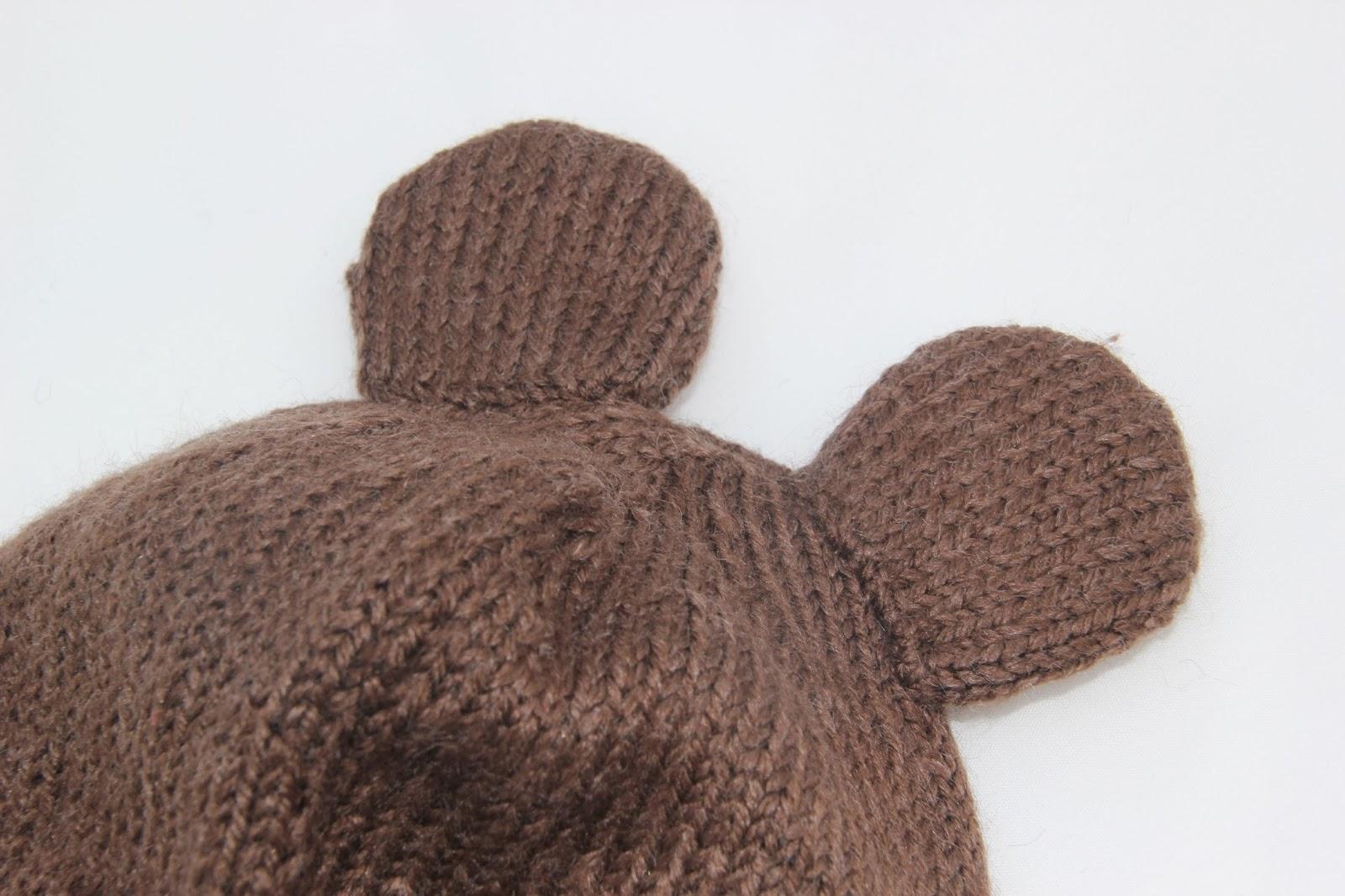 DIY Cómo hacer gorro de lana con orejas modelo 2  834028cb98c