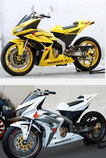 Modifikasi motor honda blade repsol ceper keren tahun 2010 2011 2012 terbaru 2014