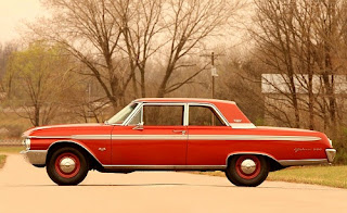 1962 Ford Galaxie 500 Side Left
