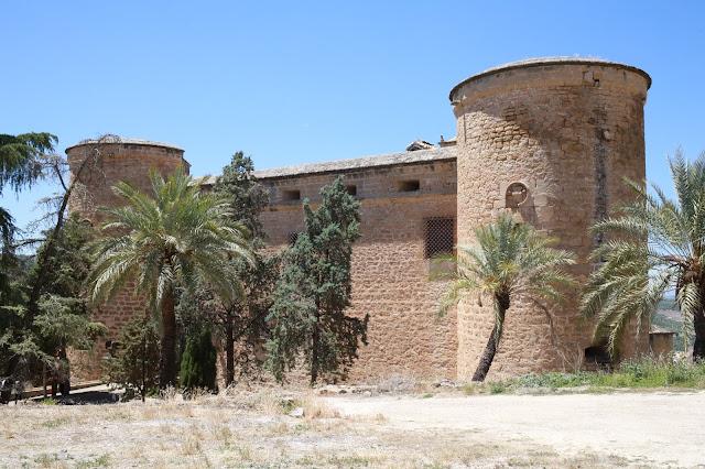 Castillo de Canena en Jaén, Andalucía (España)