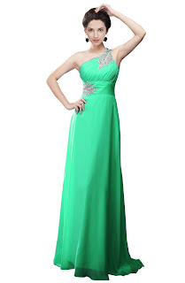 green goddess long one shoulder prom dress gowns for juniors