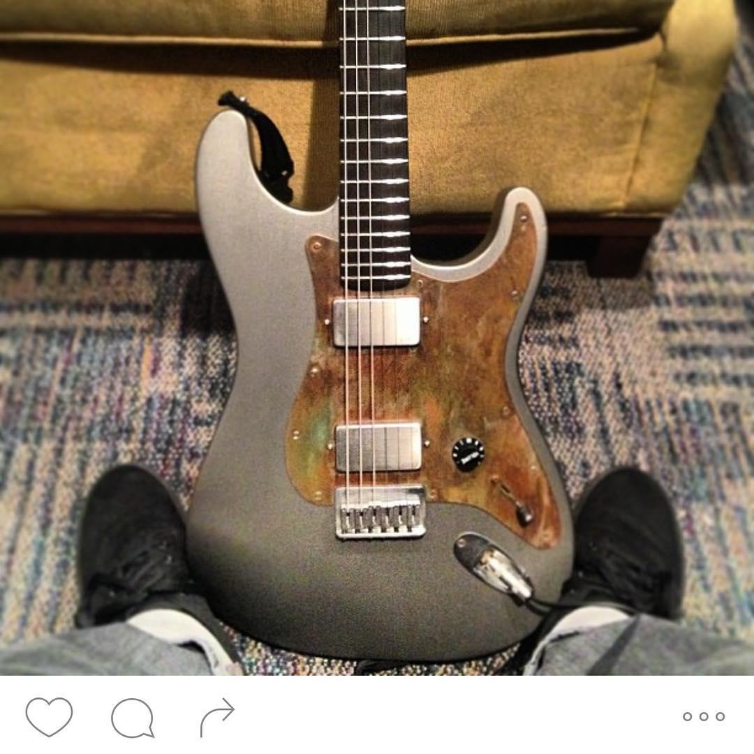 Jim Root Stolen Guitar