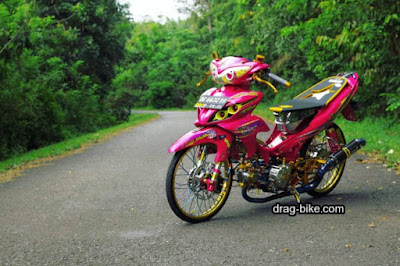 101 Modifikasi Motor Yamaha Jupiter Z Racing Kontes Terbaru 2017