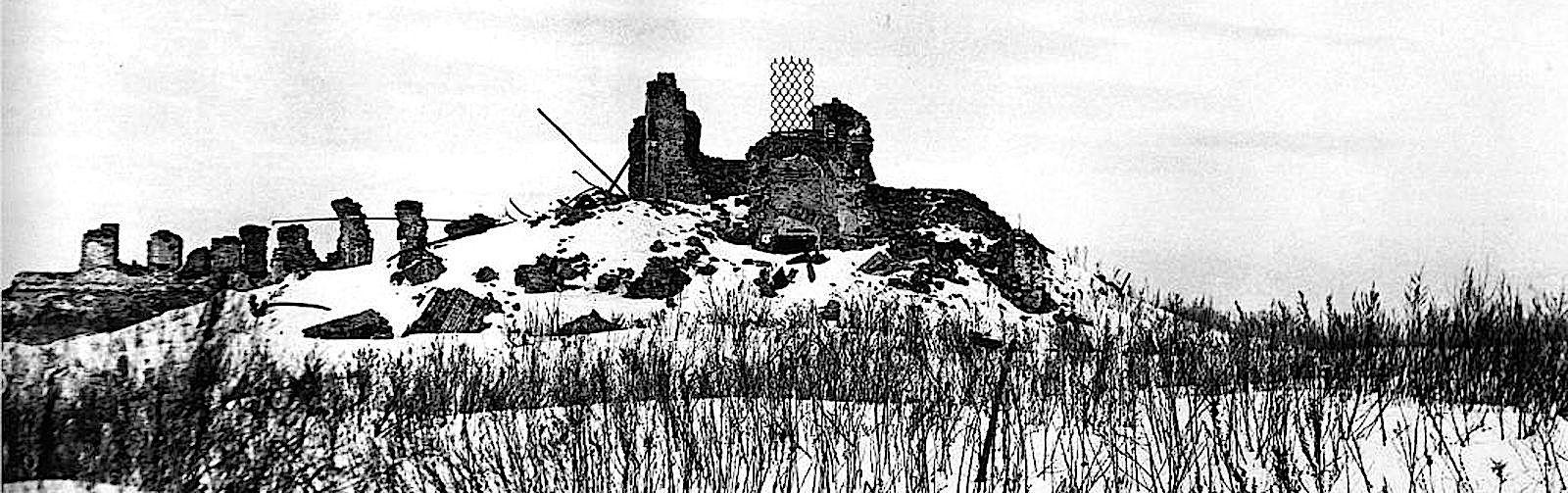 Руины монастыря в 1946 году.