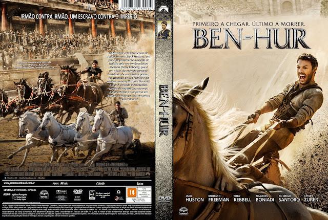 Capa DVD Ben-Hur