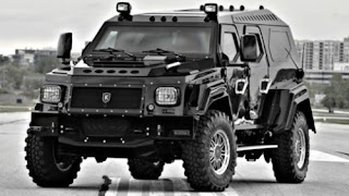 Armoured anti Zombie vehicle