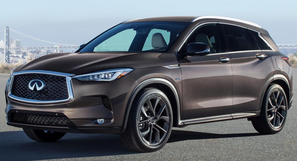 Infiniti unveils SUV with radical new engine tech