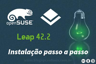 Guia de instalação do openSUSE Leap 42.2