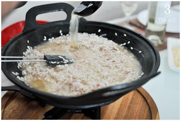 risoto cogumelos receita