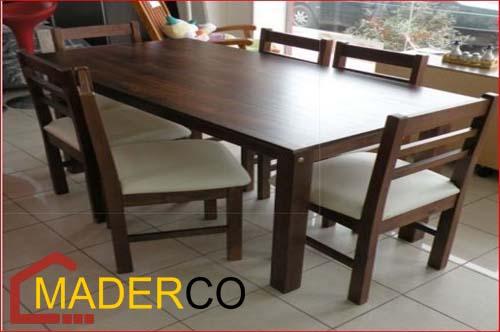 mesas y sillas para restaurantes precios ~ MADERCO PERU
