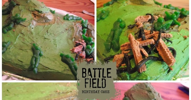 Great Fun Etc Army Party Camouflage Birthday Cake Amp Cupcakes