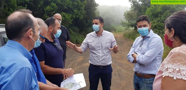 Arrancan las obras del camping de caravanas de La Laguna de Barlovento