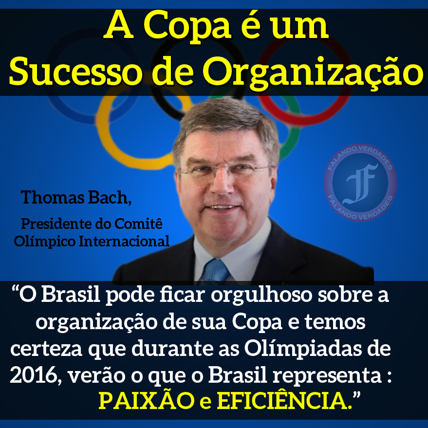 40c0458313 Presidente do Comitê Olímpico Internaciona