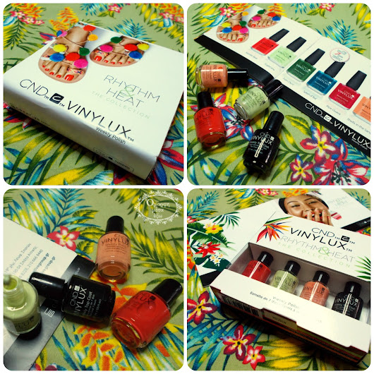 CND Rhythm & Heat Vinylux Weekly Polish: Giveaway