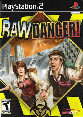 Disaster Report e Raw Danger! (PS2) (2 DVD's)