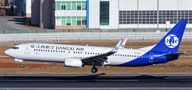Boeing 737-800 of Jiangxi Air Takeoff