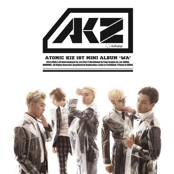 [EP] AKZ (Atomic Kiz) – Atomic Kiz 1st Mini Album Wa