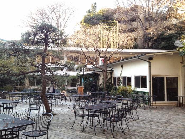 アンスティチュ・フランセ東京(旧 日仏学院)Le Brasserieのガーデンウェディング会場