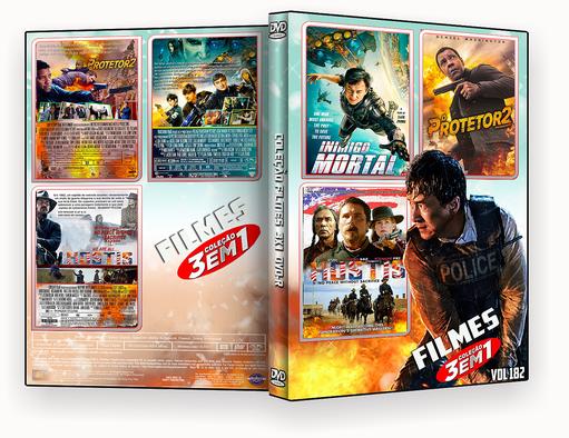 COLEÇÃO FILMES DVD-R VOL 182 – ISO