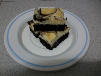 Kek Marble Cheese Brownies