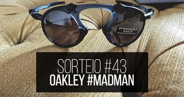 87d3b29fa Promoção - Óculos Oakley #MadMan X Metal Collection | Receba em sua casa!