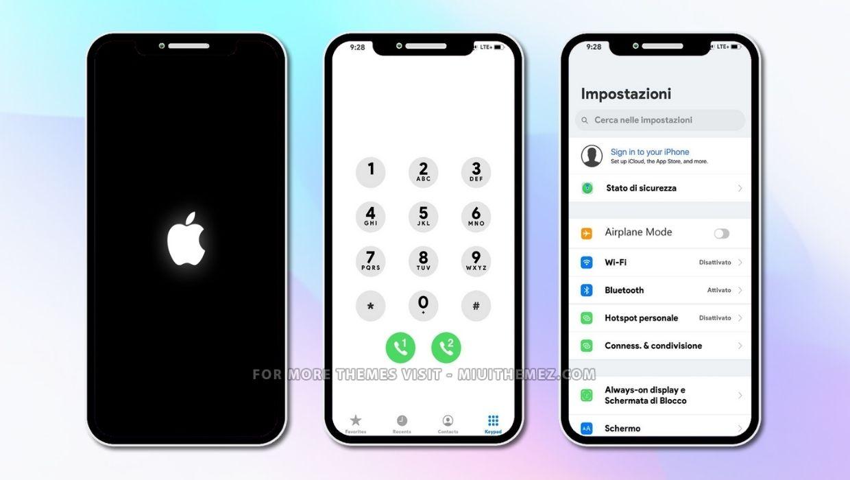 iOS 14.3 MIUI Theme