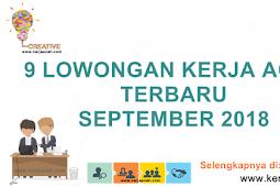 9 Lowongan Kerja Aceh Terbaru Bulan September 2018 Gaji 1 Juta s.d 8 Juta di Aceh