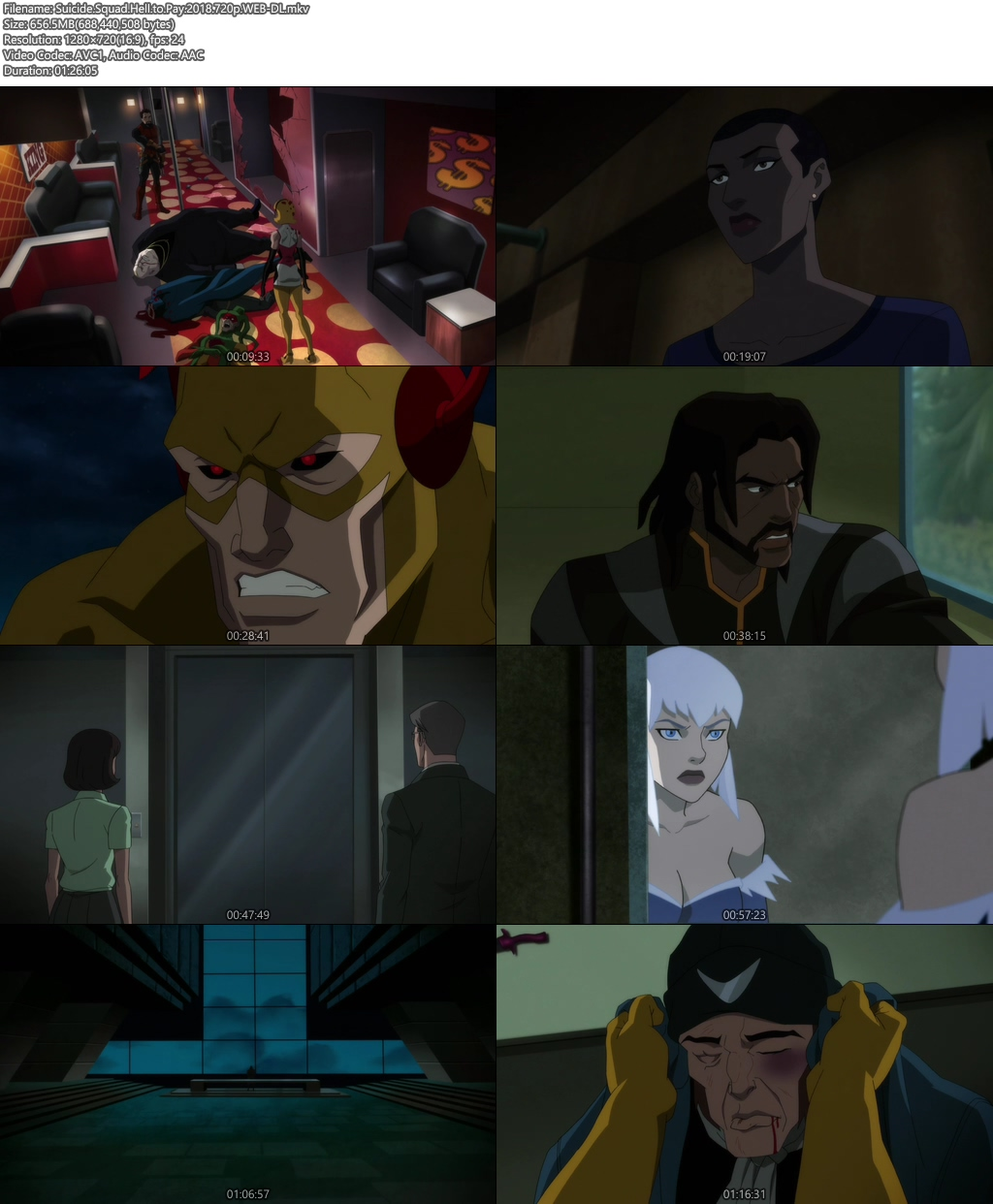 Suicide Squad Hell to Pay 2018 WEB-DL 720p | 300MB 480p | 150MB HEVC Screenshot