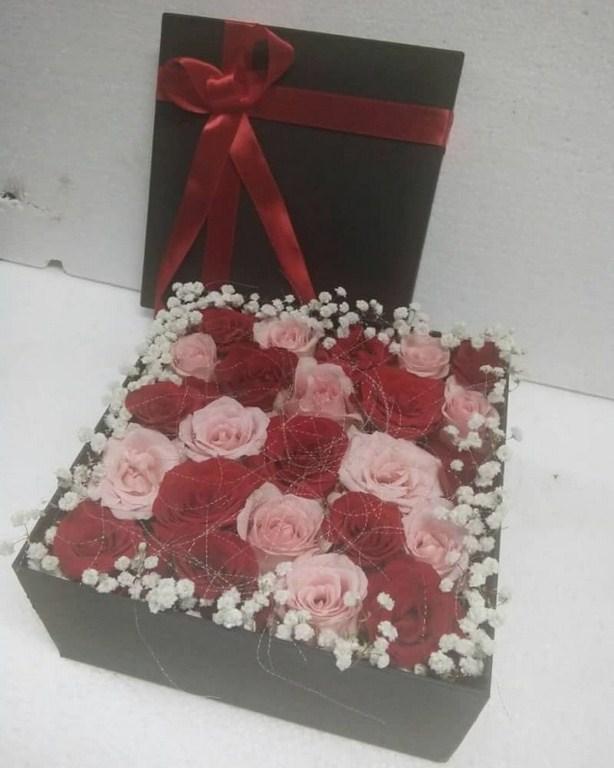 Karangan Bunga Box 001