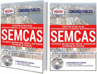Apostila Concurso SEMCAS São Luís 2018