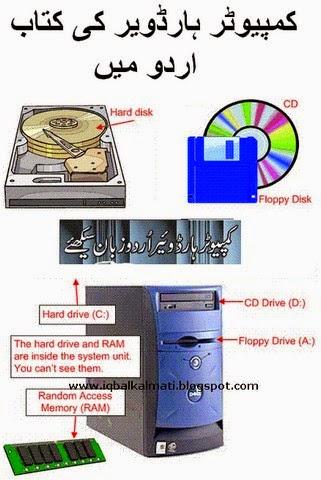 Computer Hardware Urdu Book Tutorial