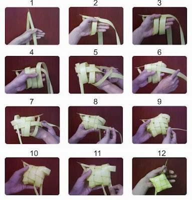 MacamMacam Bentuk Ketupat dan Cara Membuatnya  Art Energic
