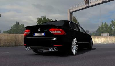 Mod Mobil Skoda SuperB RS