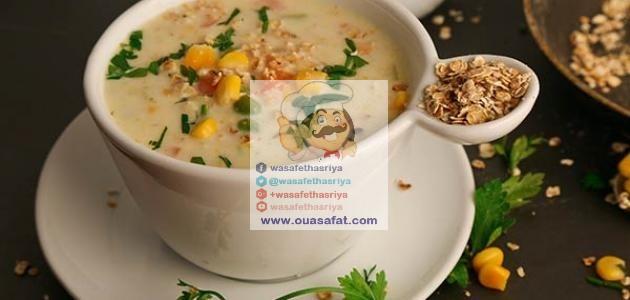 حساء كوكير الشوفان