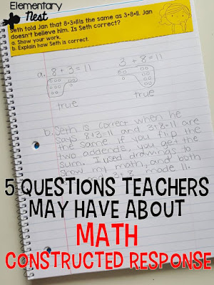 Writing about Math- all about integrating writing into your primary math block