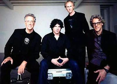 The New Doors... 2002-2003... Ray Manzarek, Ian Astbury, Robbie Krieger, Stewart Copeland.