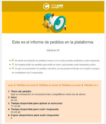 invitacion concursos we are content