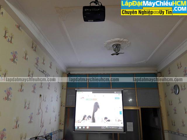 Lắp đặt máy chiếu HD 3D Optoma W341 cho nhà trẻ tại quận 7