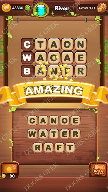 Word Bright Level 141 Answers, Cheats, Solutions, Walkthrough for android, iphone, ipad and ipod